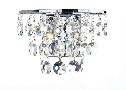 Chandelier style wall lights